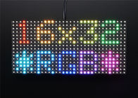 Adjustable 3528 SMD Full Color LED Display Module Indoor Dot Matrix 32 * 16
