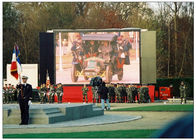 1 / 4 Electronic Large LED Advertising Screen , Outdoor Led Billboards Rental P6 SMD