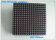 DIP PH10 RGB LED Display Module , 7000nits Brightness IP65 LED 7 Segment Display