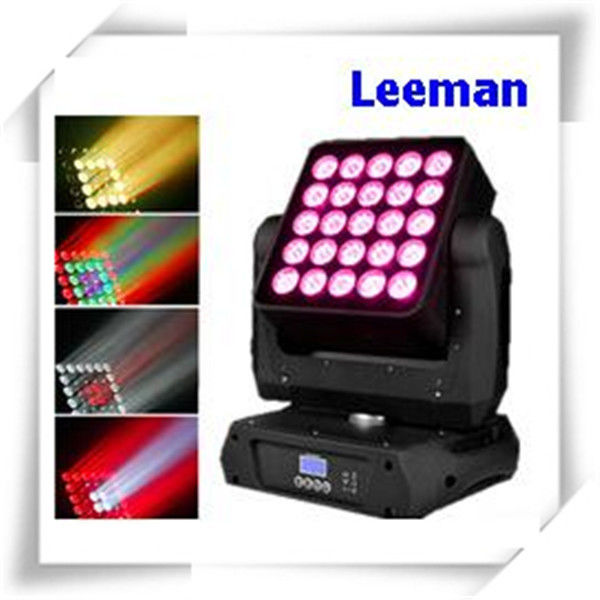 High Efficiency DMX LED Stage Lighting , 25 X 12W Dj Club Lights For Concert / TV Studio
