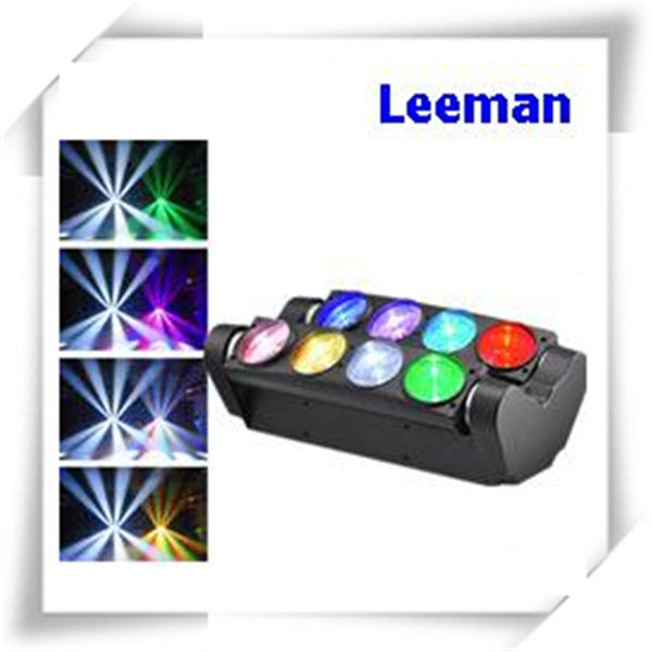 Color Changing LED Stage Lighting / 4 In 1 Moving Head Led Spider Beam Light