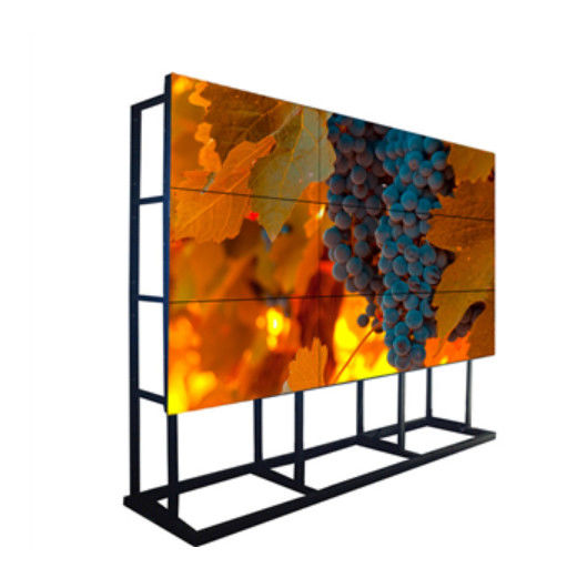 Full HD 1080p Samsung LCD Video Wall Monitor 6.7mm Bezel For Live OLED TV Station